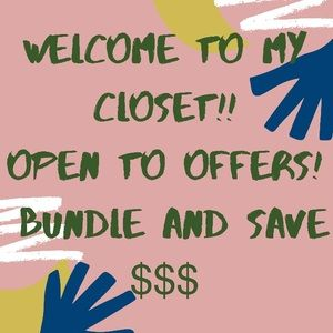 ⭐️REASONABLE OFFERS WELCOME!⭐️